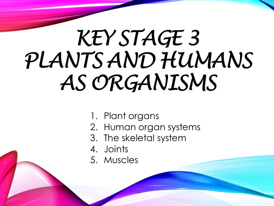 Humans as Organisms